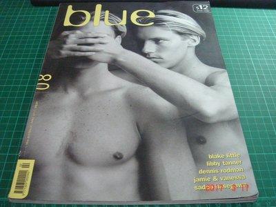 限制級~同志雜誌《BLUE 08》大本書角有微翹  APRIL 1997 【CS 超聖文化讚】