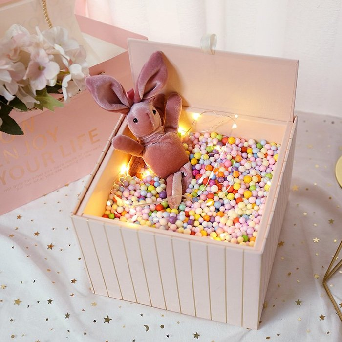 禮品盒送男女朋友禮物包裝盒子ins精美韓版生日禮盒婚慶伴手禮盒