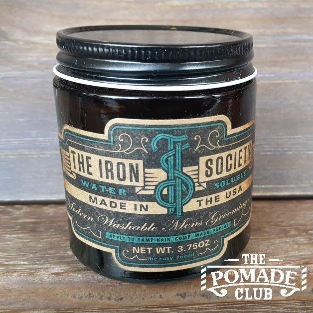 便宜生活館【造型品】The Iron Society water soluble 鋼鐵幫 水洗式髮油 油頭(可超取)