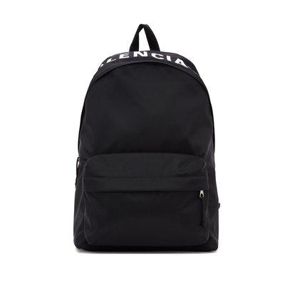 [全新真品代購] BALENCIAGA 經典款 刺繡 LOGO 後背包 (巴黎世家)