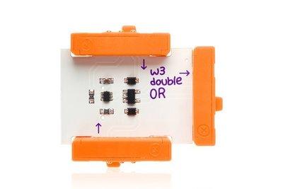 美國 littleBits 零件 (wire):  double OR (8折出清)