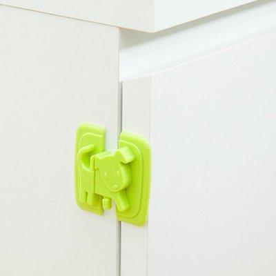 ☜shop go☞【Q311】小狗造型移動安全鎖 兒童 防護 冰箱 櫥櫃 鎖扣 防夾 掉落 保護 直角 黏貼