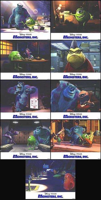 Pixar 皮克斯 經典 - 怪獸電力公司 (Monsters Inc.)  - 美國原版電影劇照 (2001年)