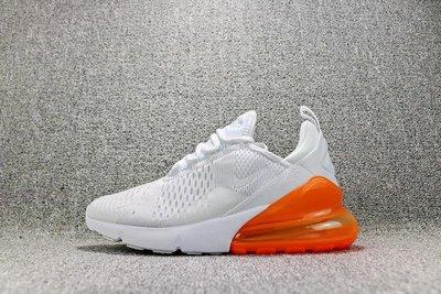 Nike Air Max 270  白橘 氣墊 網面 經典 休閒運動慢跑鞋 男女鞋 AH8050-102