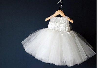韓版女童蓬蓬 公主裙 畢業演出服 鋼琴演奏 花童 白色禮服 洋裝紗裙 011 還有多款冰雪奇緣