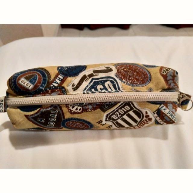 美式多功能筆袋、化妝包 5*30*5公分