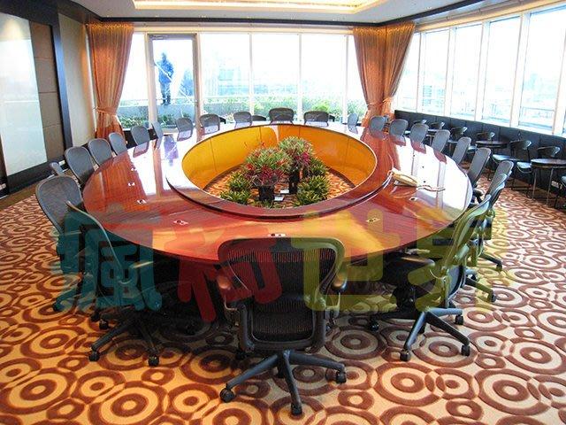 《瘋椅世界》OA辦公家具全系列 訂製高級會議桌  (董事長桌/老闆桌/洽談桌)1