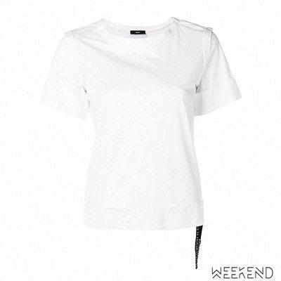 【WEEKEND】 DIESEL Double-Layer 短袖 T恤 白色 19春夏