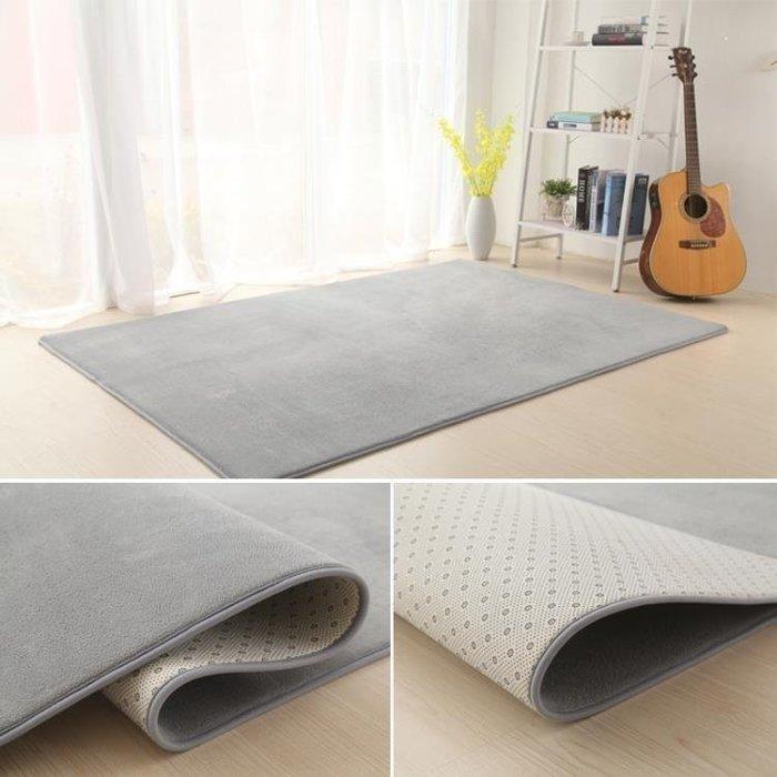 YEAHSHOP 珊瑚絨加厚地毯客廳茶幾地毯臥室滿鋪地毯床邊毯榻榻米地墊可定制Y185