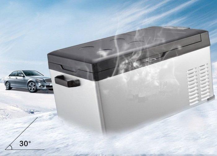(車用 家用) 可冷凍 可調溫 大容量40公升 有壓縮機車用冰箱 外銷歐洲 冷凍車載冰箱 戶外行動冷凍庫