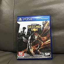 Second son 惡名昭彰 PS4 二手