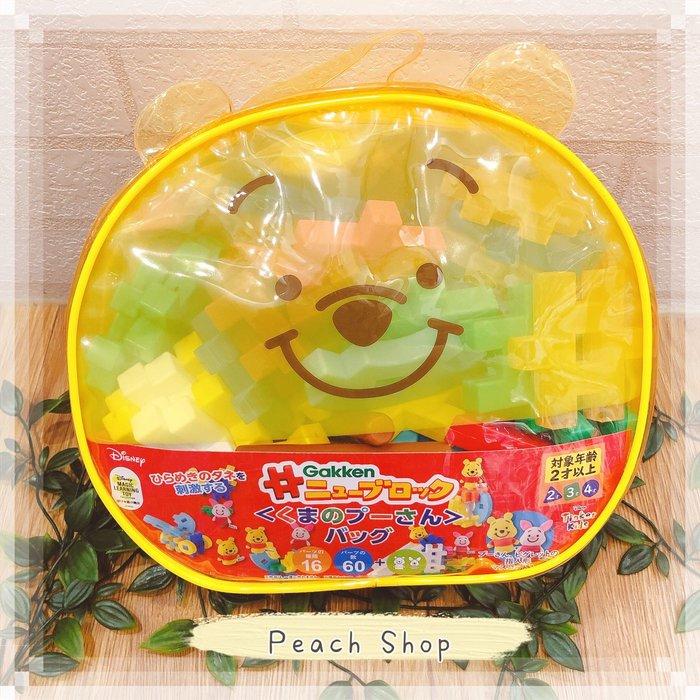 【桃子小舖 ♥ P.S 】維尼巧拼益智積木玩具組 日貨