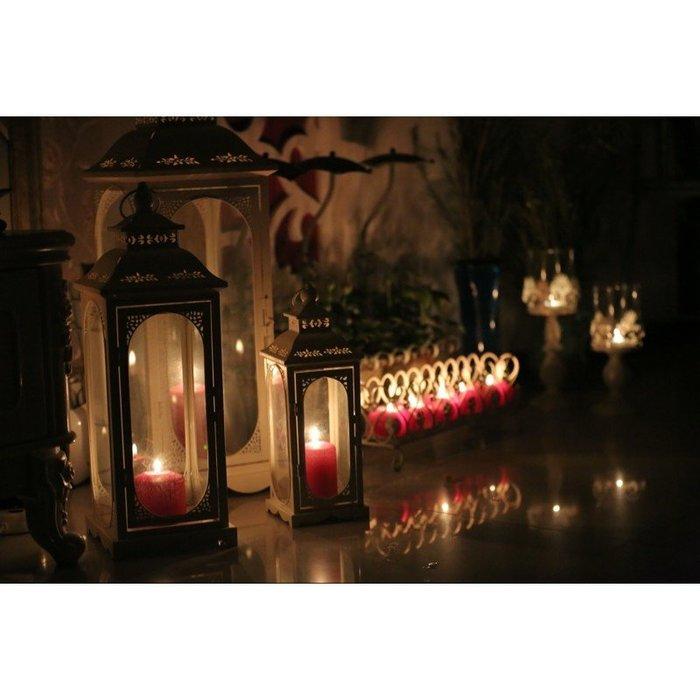 歐式鐵藝風燈馬燈/婚慶路引舞台婚房擺件/庭院家居燭台