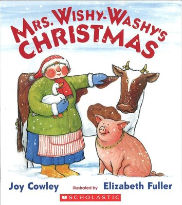 *小貝比的家*MRS. WISHY-WASHY'S CHRISTMAS/平裝/3~6歲/ 聖誕節