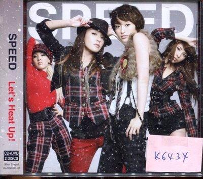 *真音樂* SPEED / LET'S HEAT UP CD+DVD 二手 K6434(大降價.下標賣5)