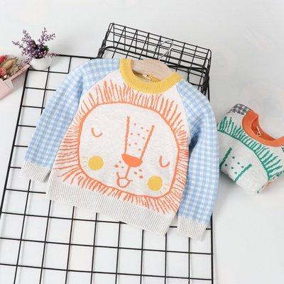 【Mr. Soar】 秋冬新款 韓國style童裝男童小獅子毛衣 中小童 預購