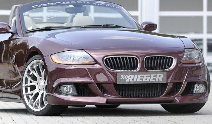 【樂駒】RIEGER BMW Z4 E85 front bumper 前保桿 保險桿 外觀 空力 霧燈
