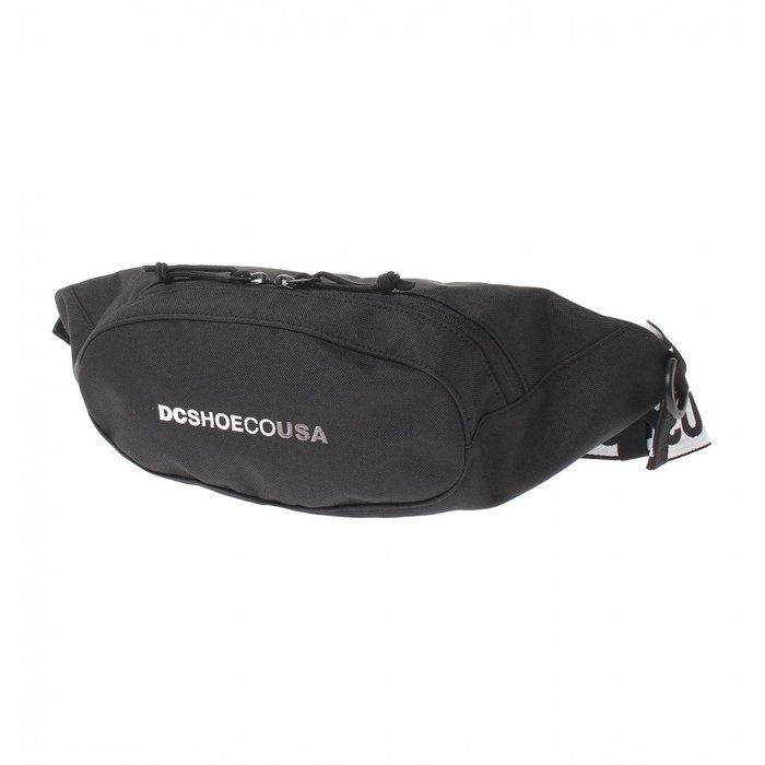 [CABAS滑板店] DC BASTILLE BAG 黑色 │ 腰包 側背包 防潑水