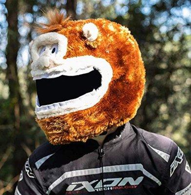 【丹】A_Moto Loot Helmet Cover 安全帽套 芝麻街 猴子款