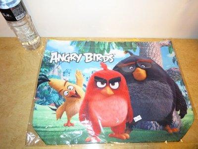 ///可愛娃娃///~正版憤怒鳥玩電影~憤怒鳥餃型購物袋~媽媽包~大提袋~手提袋(大)三款---約50公分