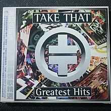 接招合唱團 Take That【1996深愛-超級情歌精選輯】二手CD  下標即結標