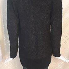 M223 日系品牌COMFO-STRAIN TOKYO黑色 開襟針織外套LL