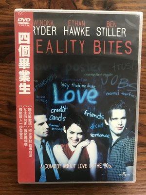 全新未拆【 四個畢業生Reality Bites (1994) 】正版絕版DVD