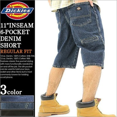 【Admonish 】DICKIES 34293 牛仔短褲 工作短褲 30 32 34 36版型同DX201