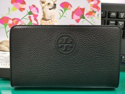TORY BURCH TB logo中長夾可放手機鑰匙手機包證件零錢 (有誠可小議價)
