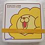日本甜甜圈 mister donut點數贈品波提獅野餐盒保鮮盒 [ 清倉大特價  ]野餐趣