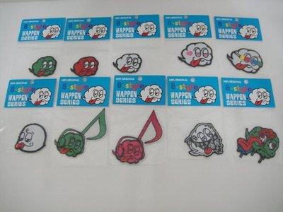 全新2010玩具創作展 8-style 貼布!非APE,KAWS,NEIGHBORHOOD