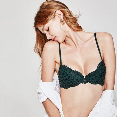 小可愛@好奇蜜斯甜美性感胸罩有鋼圈蕾絲文胸聚攏上托收副乳防下垂內衣女
