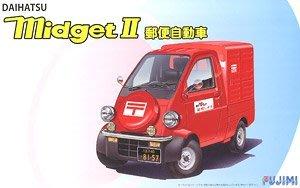 富士美拼裝汽車模型 1/24 Daihatsu Midget II 郵政車 03965