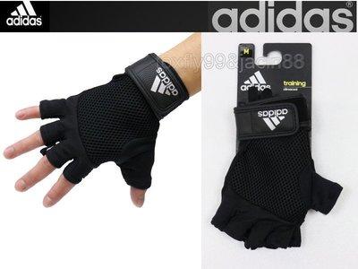 (布丁體育)愛迪達 adidas 專業健力手套 重量訓練手套 重訓手套 舉重手套 另賣 搖擺鈴 啞鈴 健腹輪 滾輪 握力