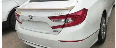DJD19061248 HONDA 本田 Accord 2018 押尾 後尾翼套件 素材
