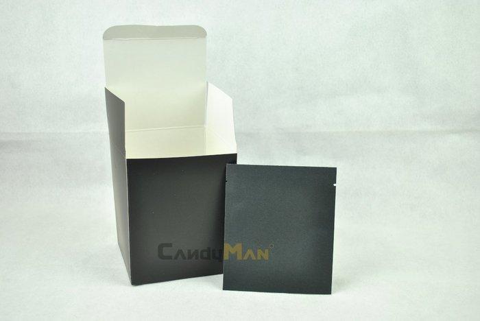 DBC102 純黑 霧面 全空白 掛耳咖啡外盒 質感好 有硬度 可裝10包濾泡式掛耳咖啡袋 20入