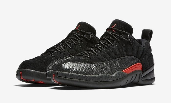 "沃皮斯§ AIR JORDAN 12 LOW ""MAX ORANGE"" 男 308317-003"