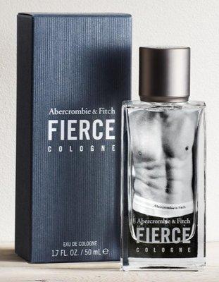 QQ旅行小舖~Abercrombie & Fitch Fierce Cologne A&F店用AF男性香水50ML