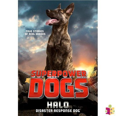 [文閲原版]Superpower Dogs: Halo: Disaster Response Dog 英文原版 影視小說