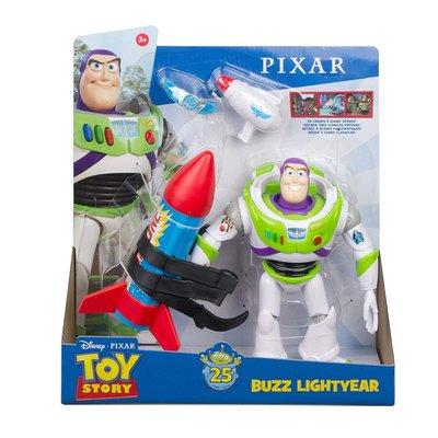 迪士尼 玩具總動員 25周年 巴斯光年 火箭遊戲組~請詢問庫存
