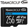 Team 十銓 256G 256GB ELITE microSDXC TF ...