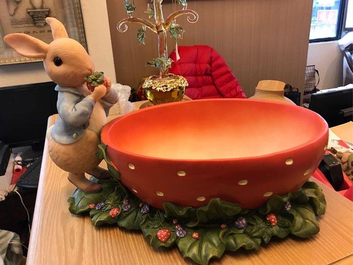 彼德兔大草莓置物盒