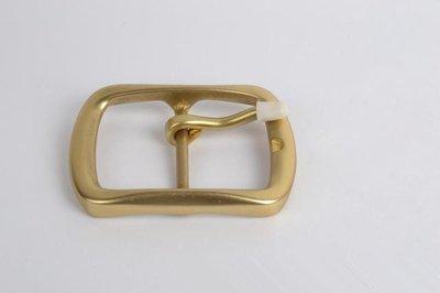 『老兵牛仔』WK-501純黃銅日字針扣扣頭/純黃銅