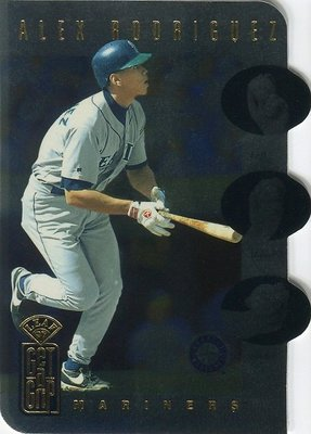 (T)A-rod Alex Rodriguez 1997 Leaf Get A Grip 限量3500