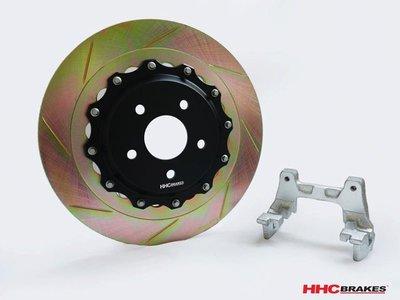 HHC BRAKES BMW 寶馬 X3 F25 / X4 F26 專用 雙片 後 加大 通風 碟盤 350mm