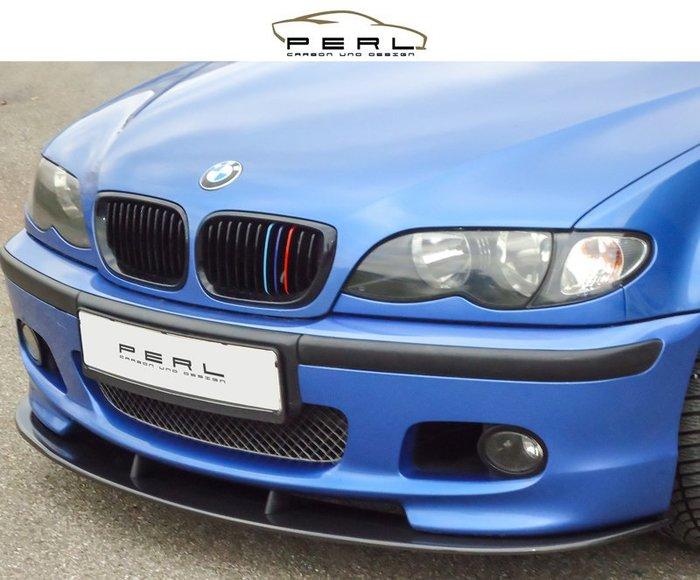 【樂駒】Perl Carbon Design BMW E46 M2-Sportpaket 前下擾流 碳纖維 輕量化 改裝