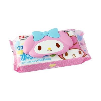 ❃小太陽的微笑❃日本製 美樂蒂 可重複使用 濕紙巾 卸妝棉 專用蓋 黏貼蓋 附濕紙巾 嘉義市