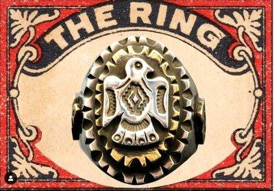 韓國 Penetrate 銀飾品   thunderbird雷鳥 墨西哥戒指