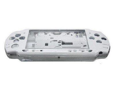 【出清商品】SONY PSP 2000 2007 副廠 全機外殼 機殼 專業維修 快速維修 珍珠白 白色 不含按鍵 螺絲