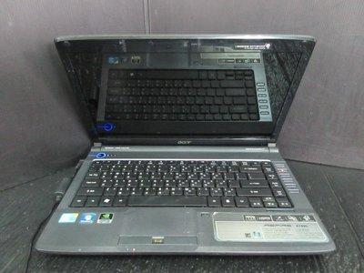 筆電零件機 宏碁 acer Aspire 4740G CPU i5-430M (可過電不開機)